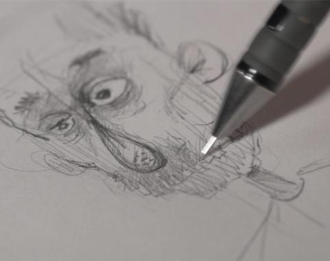 branko charon sketch