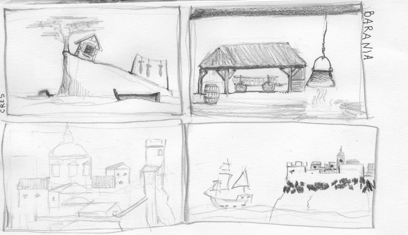 lado sketch dubrovnik